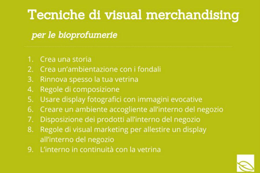 9 Tecniche di visual merchandising per le bioprofumerie 5