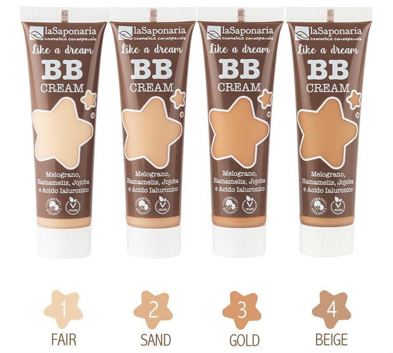 Set BB cream LaSaponaria