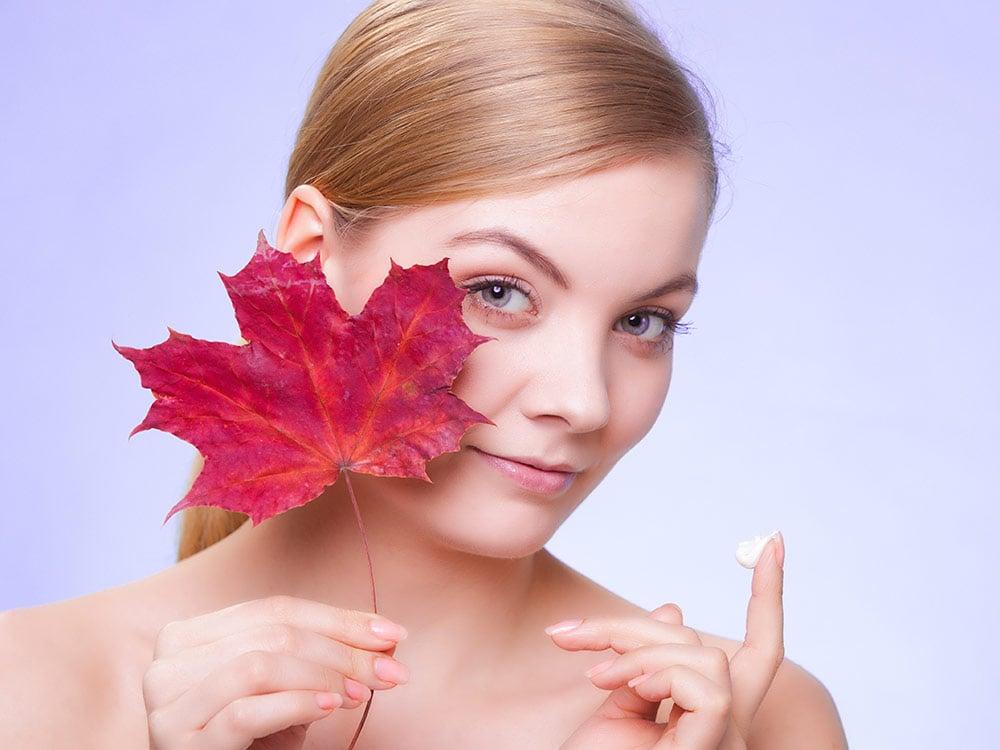 caratteristiche della pelle sensibile con i cambiamenti climatici